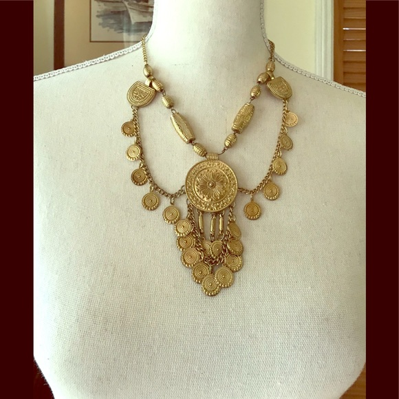 EGYPTIAN REVIVAL Vintage Necklace